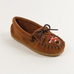 kids mocs thunderbird brown 2602