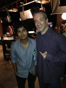 Kunal Nayyar of The Big Bang Theory