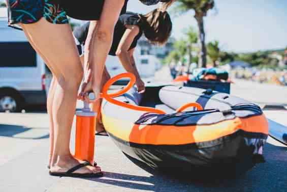 what size are inflatable boats