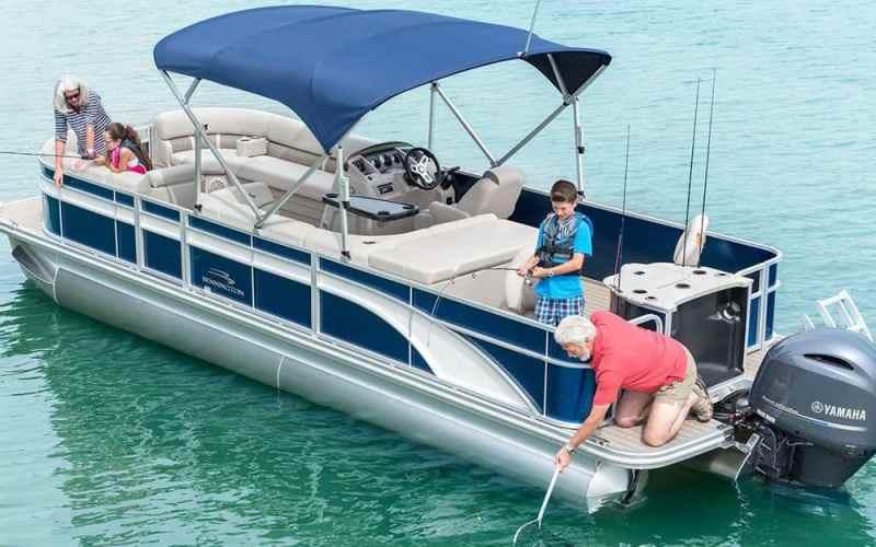 Pontoon Boat For Saltwater Fishing