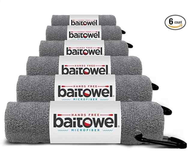 Fishing gifts bait towel