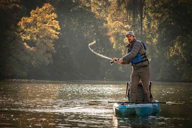 3 waters 105 fishing kayak