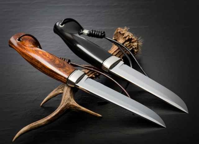 Serrated Hunting Knife?