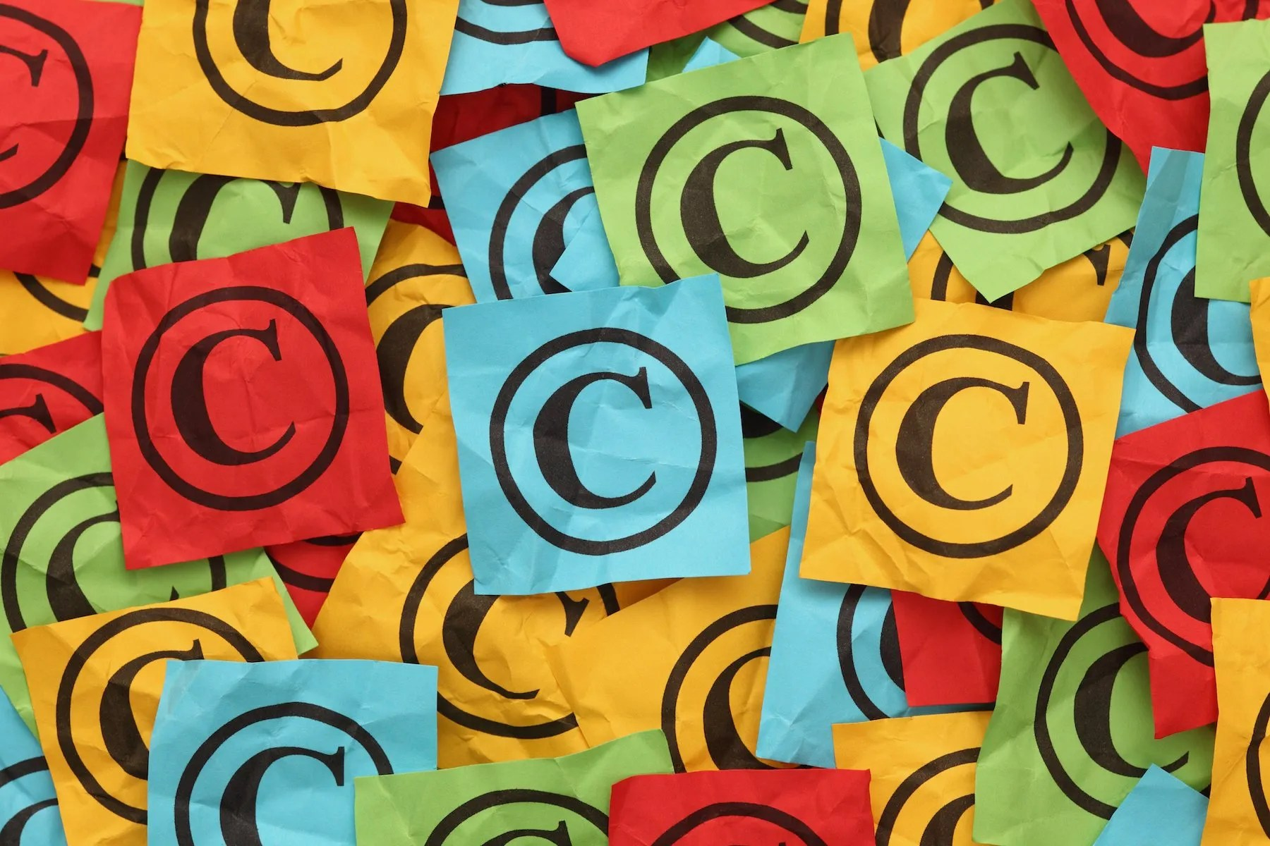 Copyright Symbol and Pinterest Best Practice