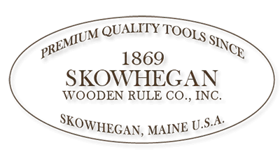 Logo for Skowhegan Wooden Rule