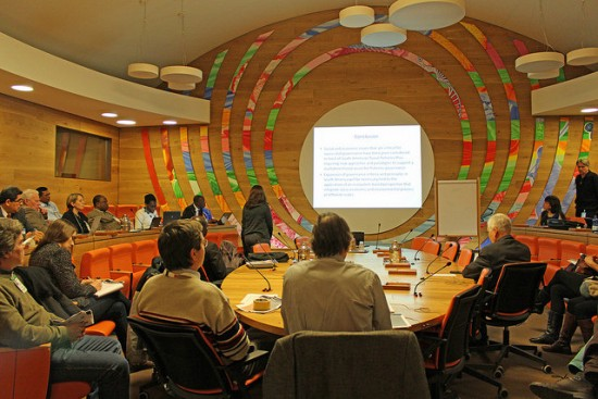 Photo of AFS at the FAO Inland Fisheries