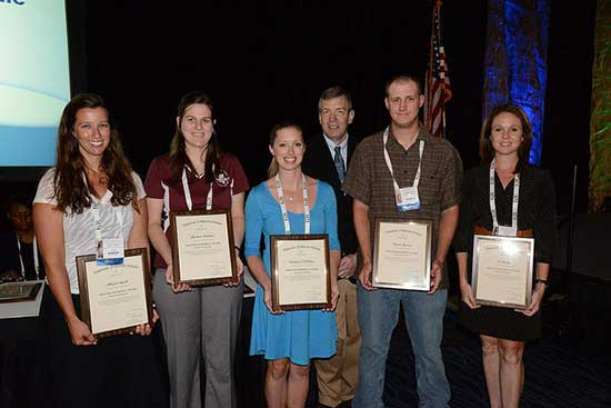Photo of American Fisheries Society Award Recipients