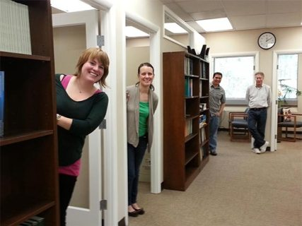 Photo of the American Fisheries Society AFS book staff