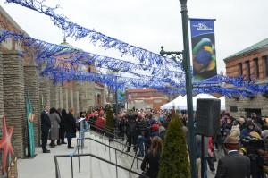 The March 2015 grand reopening of the Toledo Zoo Aquarium. Photo credit: Toledo Zoo, Andi Norman.