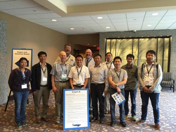 The Third Mississippi-Yangtze River Basins Symposium at Kansas City. Photo credit: Yushun Chen