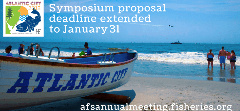 "<a href=""https://afsannualmeeting.fisheries.org/"">Atlantic City Symposia Proposals Due January 31</a> slide"