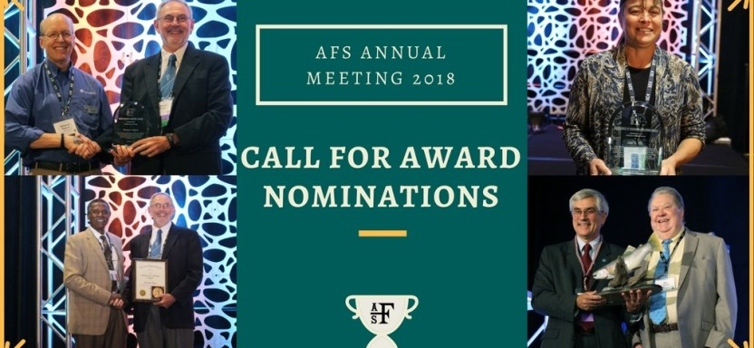 """<a href=""""https://fisheries.org/about/awards-recognition/call-for-award-nominations/"""">Recognize Your Deserving Colleagues</a> slide"""