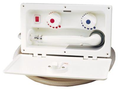 300S Series  Tuck Away Transom Showers  Heater Craft