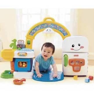 «Смейся и учись» Музыкальная интерактивная игрушка «Кухня» Fisher-Price на прокат в Минске