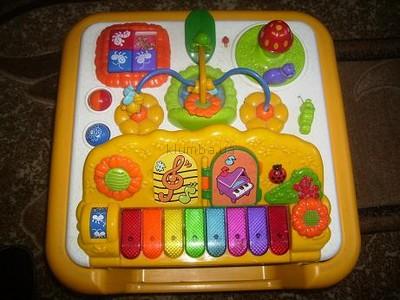 Развивающий столик Chicco Modo 2в1 с пианино напрокат
