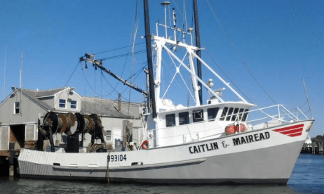F v caitlin mairead safe after taking on water coast for Commercial fishing boats for sale gulf coast