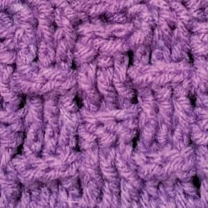 Basket weave close up