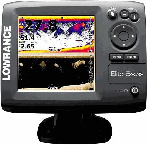 Lowrance Elite 5 HDI Fish Finder Hybrid Dual Imaging