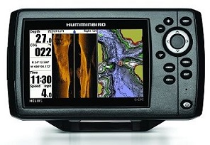 Humminbird HELIX 5 SI fish finder with gps review