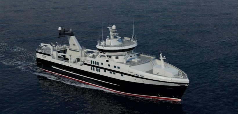 SEAWATER COOLING SYSTEM FOR PRESTFJORD TRAWLER