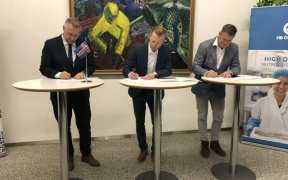 HB GRANDI SIGNS RECYCLING DECLARATION OF INTENT
