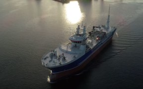 MOWI WELCOMES LARGEST CANADIAN AQUACULTURE VESSEL