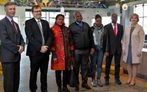 MOZAMBIQUE DELEGATION ON CANADIAN FISHERY STUDY