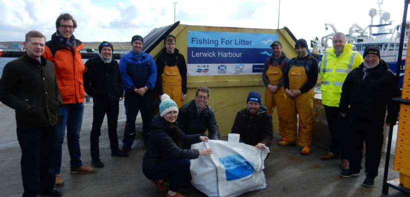 NEW SKIPS FOR MARINE LITTER SCHEME