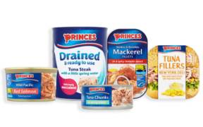 PRINCES INCREASES PACKAGE RECYCLING