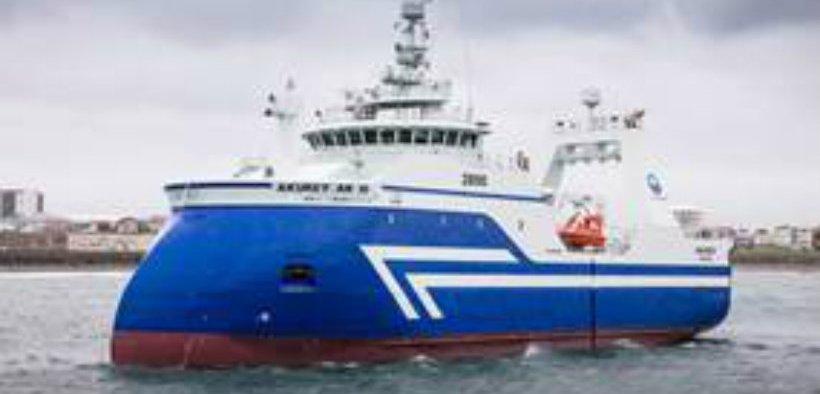 REDFISH PROVE ELUSIVE FOR ICELANDIC TRAWLER