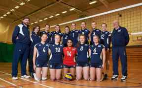 SCOTTISH WOMEN'S VOLLEYBALL TEAM
