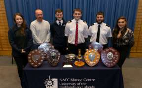 PRIZES FOR NAFC STUDENTS