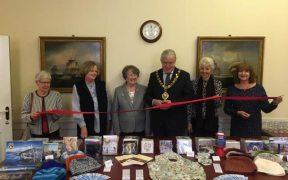 Mayor and Mayoress Launch Society's Christmas Card Appeal