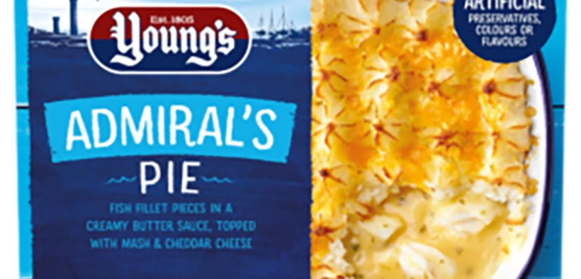 Young's Seafood overhauls core pack designs