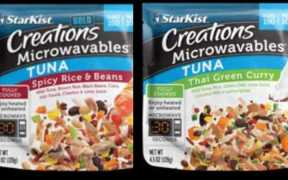 STARKIST LAUNCHES MICROWAVABLE 3
