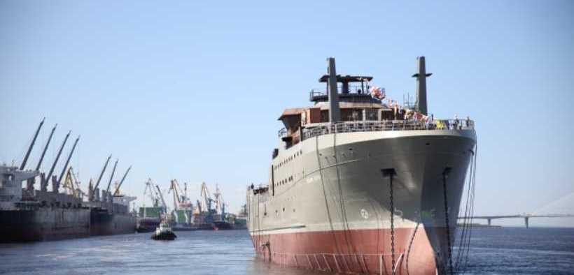 FIRST SUPERTRAWLER FOR RUSSIAN