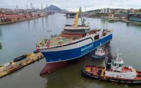 NEW VESSEL LAUNCHED FOR GREENLAND