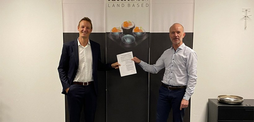 AKVA group Land Based and Vikings sign agreement for the Middle East