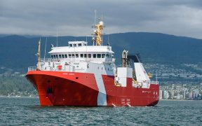 New fisheries research vessel for Canada