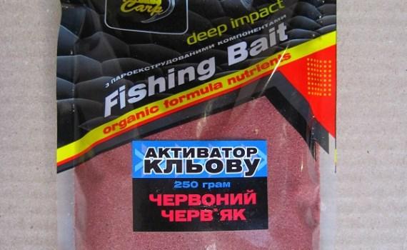 Активатор клева Красный червяк Fishing Bait