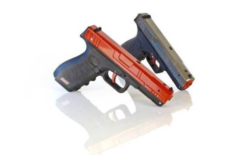 "NextLevel Training SIRT Training Pistol: Use promo code ""topshotdustin"" for $40 off! http://nextleveltraining.com/product_list"