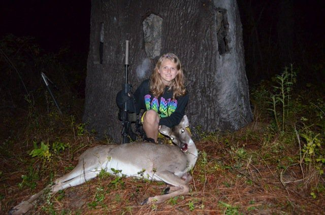 Daddy Daughter Deer Hunting