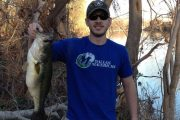 24 inch Lower Colorado River Bass 2/28/2014