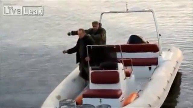 Grenade Fishing Gone Wrong