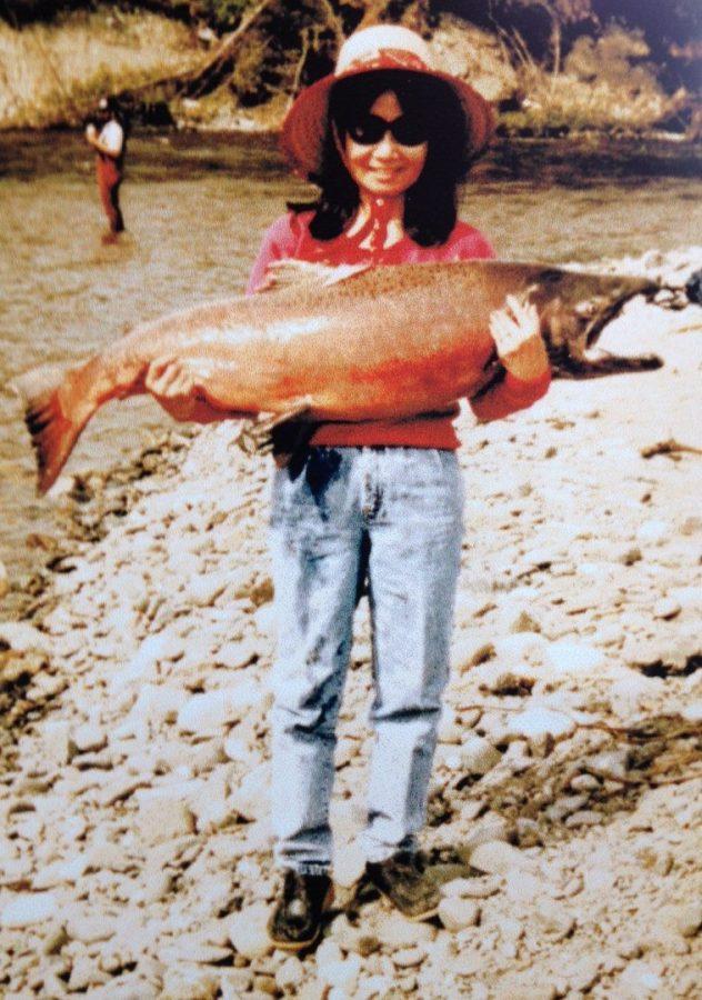 Big fish little woman