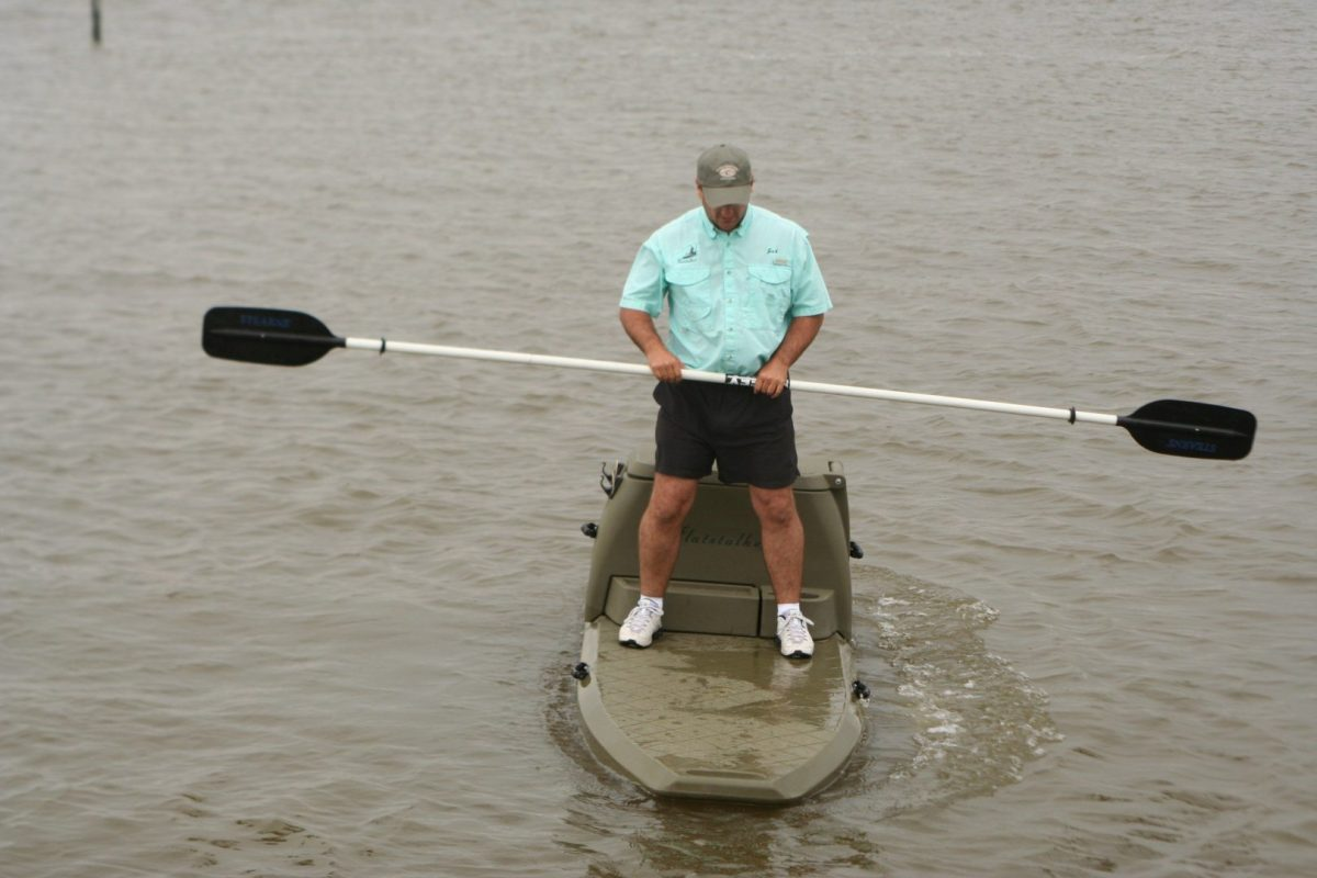 Next-Generation Fishing Boats: SUP and Fish?