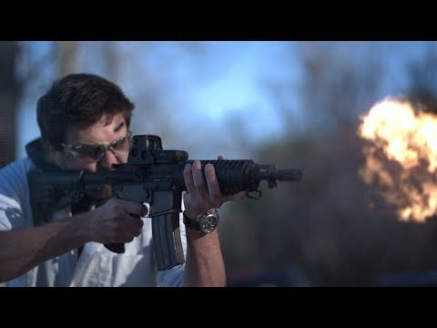 M16 in Slow Motion (18,000 fps) [video]
