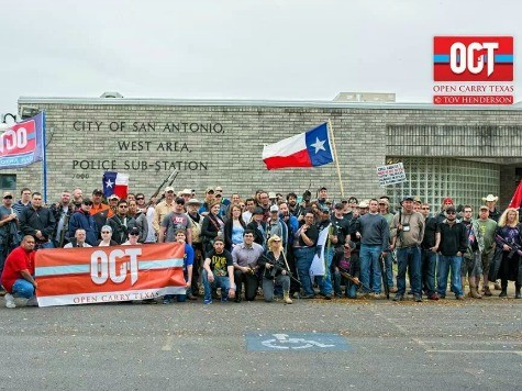 Open Carry Texas met with anger, armed protestors at meeting Houston (VIDEO)
