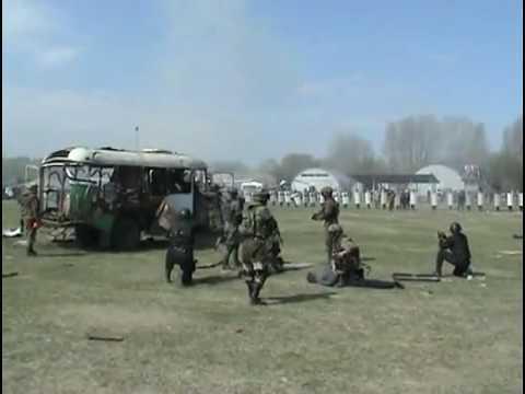 Russian SWAT Team Bus Breeching [VIDEO]