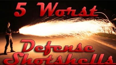 5 worst home defense shotshells